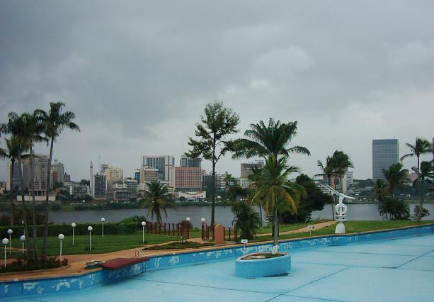 Abidjan Skyline from the Hotel